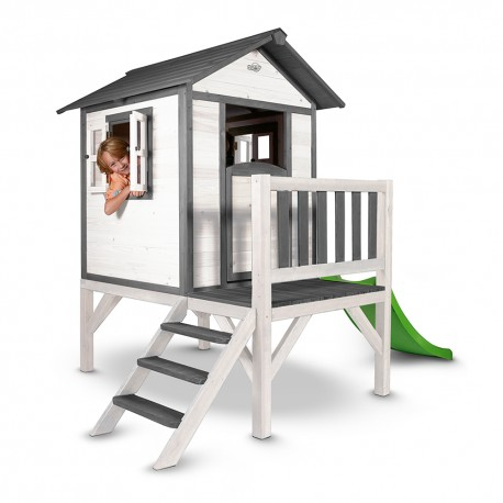 Playhouse Lodge XL (grey/white)