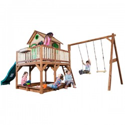Playhouse Liam with double swing