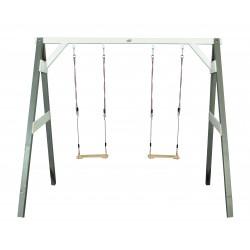 Double swing (grey/white)