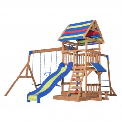 Northbrook Play Tower incl. swings