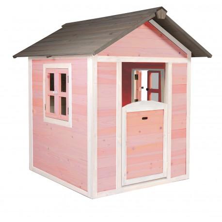 Playhouse Lodge (pink/white)