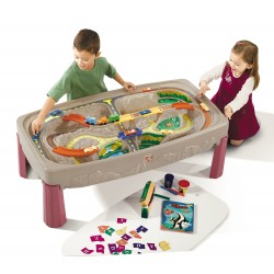 Deluxe Canyon Road Train & Track Table