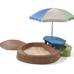 Summertime Sandpit & Picnic Table