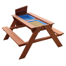 Dave Sand & Water Picnic Table Brown