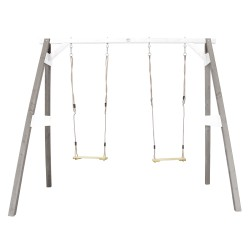 Double Swing Grey/white