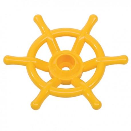 Boat wheel (yellow)