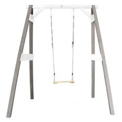 Single Swing Grey/white