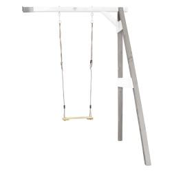 Single Swing Wall Mount Grey/white