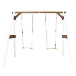 Double Swing White/brown