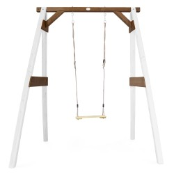 Single Swing White/brown
