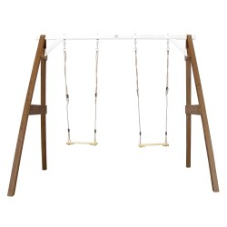 Double Swing Brown/white