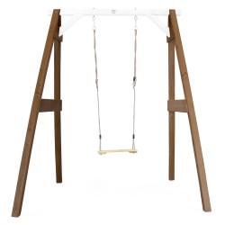 Single Swing Brown/white