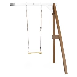 Single Swing Wall Mount Brown/white