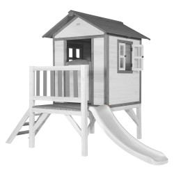 Lodge XL Playhouse Classic - White Slide