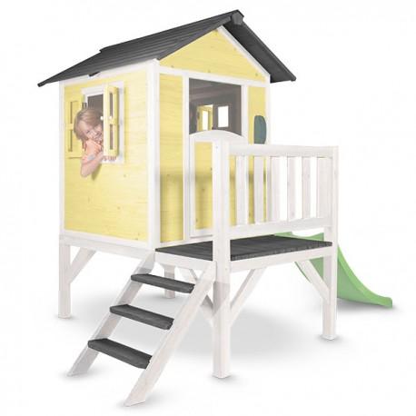 Playhouse Lodge XL (yellow/white)
