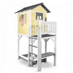 Playhouse Lodge XXL Plus (yellow/white)