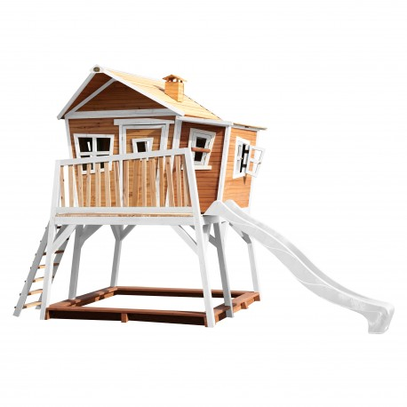 Max Playhouse Brown/white - White slide