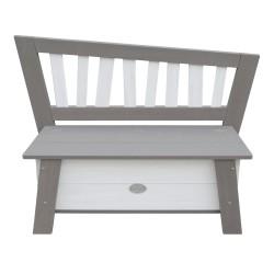 Storage Bench Corky Grey/white