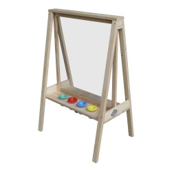 Eric Activity Easel Natural Brown