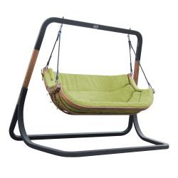 Ibiza Double Swing Chair Green
